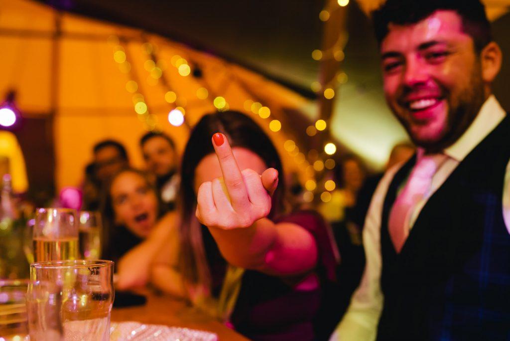 Smallshaw Farm Cottages wedding speeches