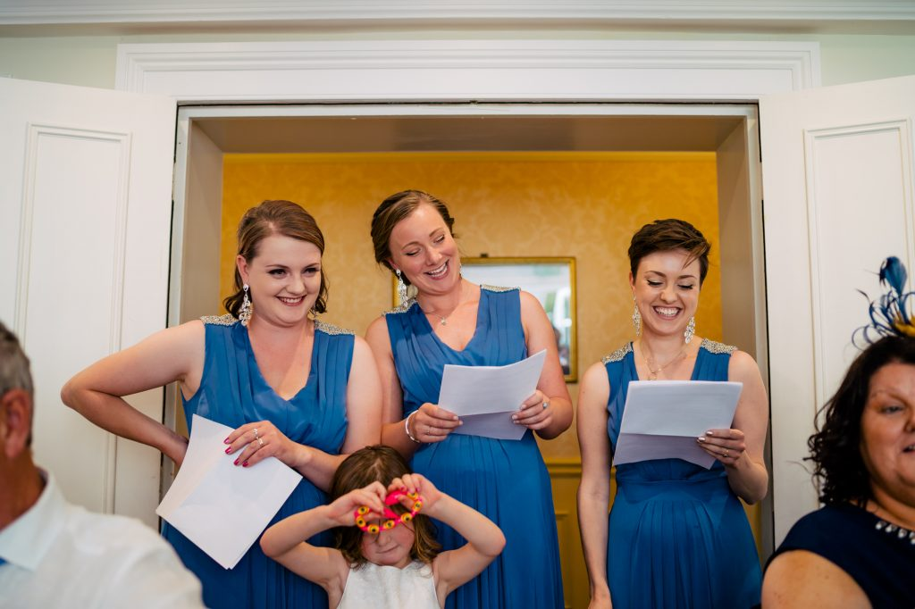 bridesmaids speeches