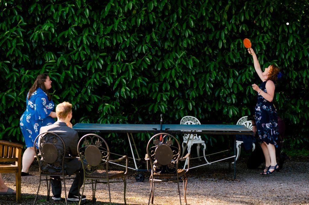 wedding Table Tennis