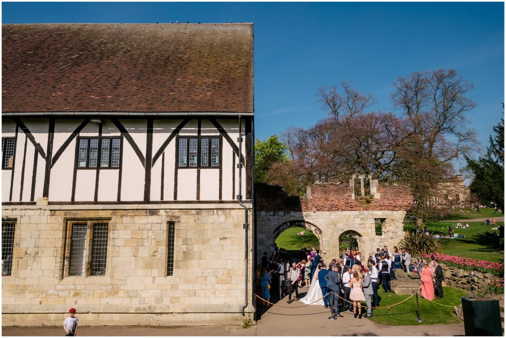 york hospitium wedding reception