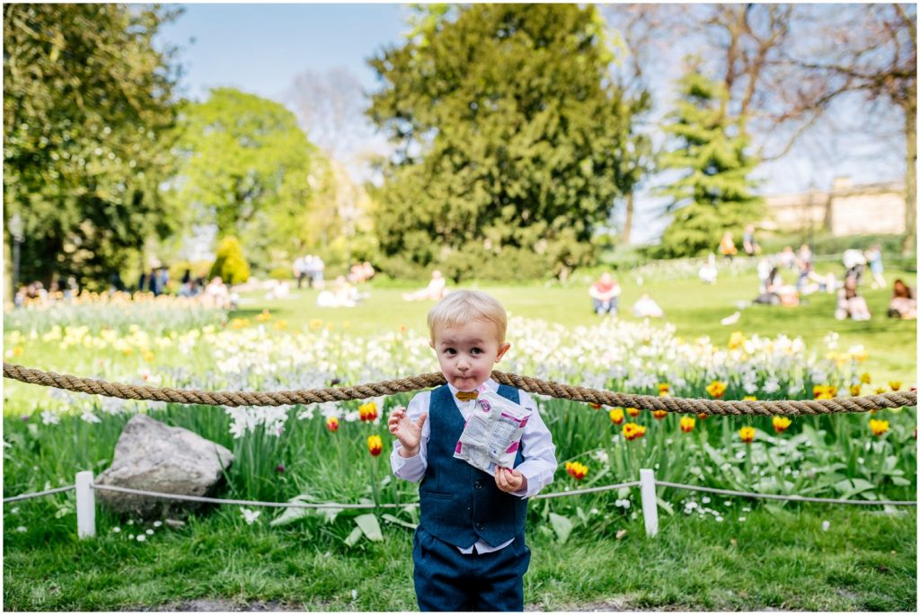 kids at york hospitium wedding