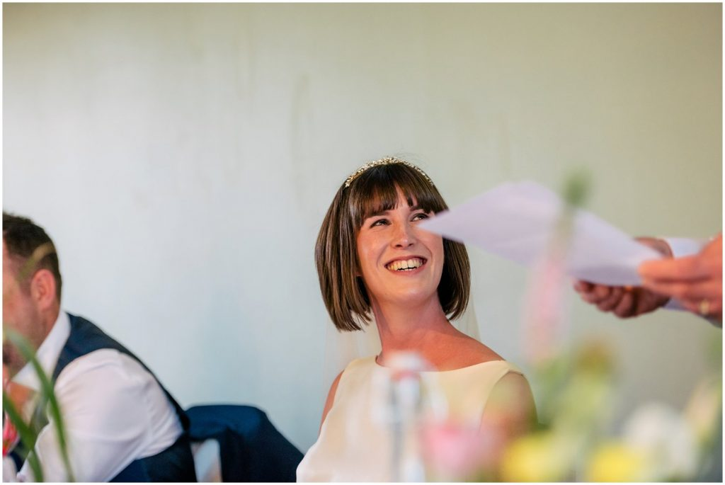 speeches at York Hospitium Wedding