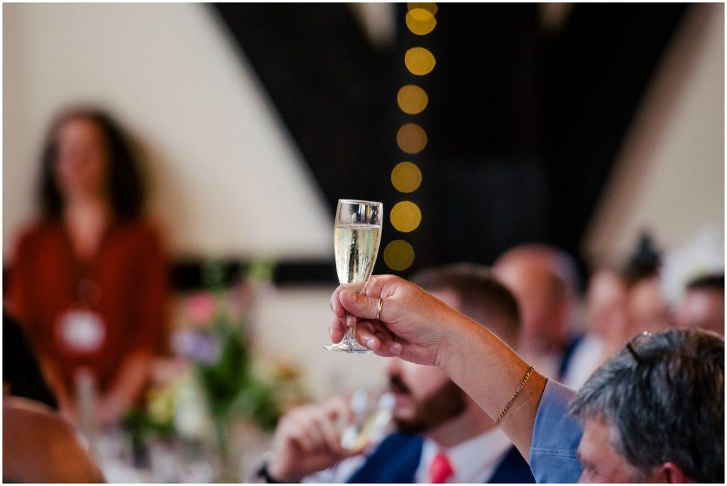 speeches at York Hospitium Wedding