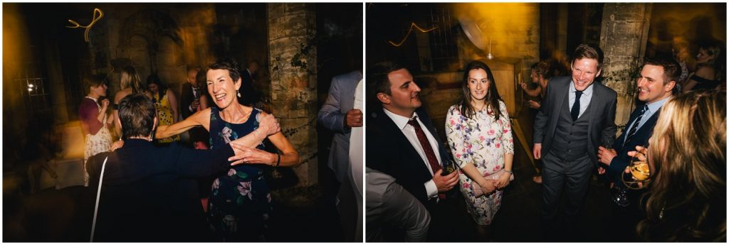 dancing at York hospitium wedding