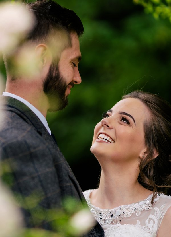 Woodhall Wedding Couple