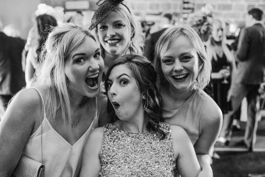 bridesmaid selfie
