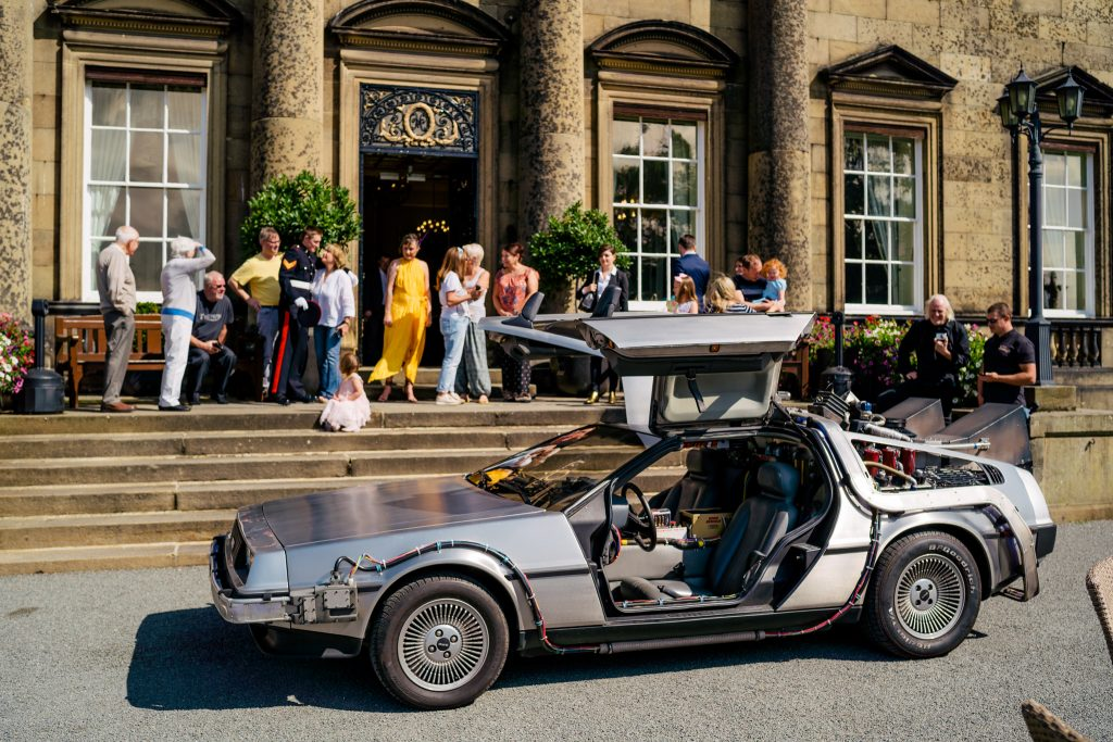 Delorean at Denton Hall