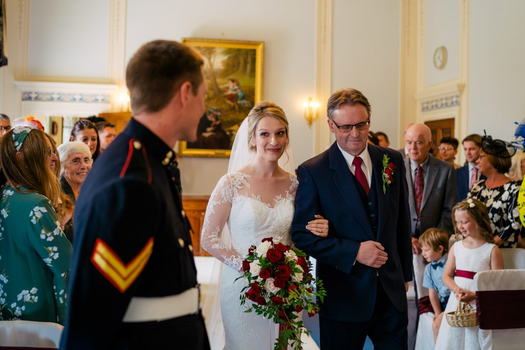 Denton Hall wedding Ceremony