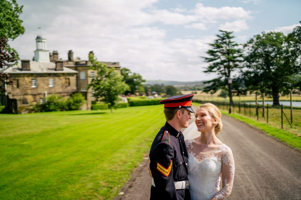 Denton Hall Wedding Portrait