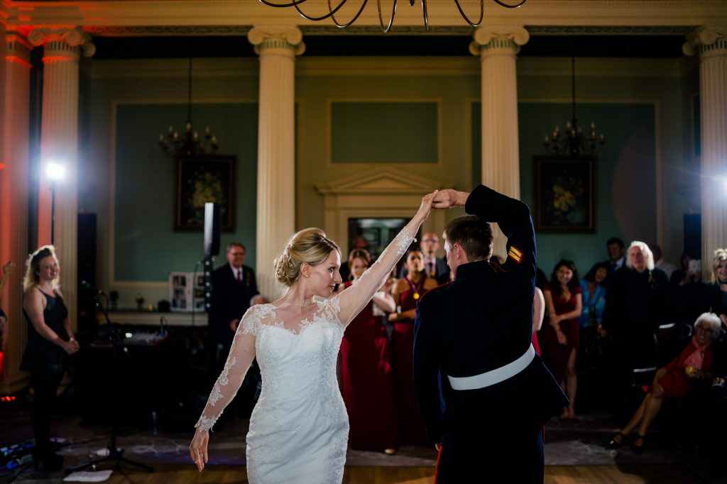 First dance at Denton Hall