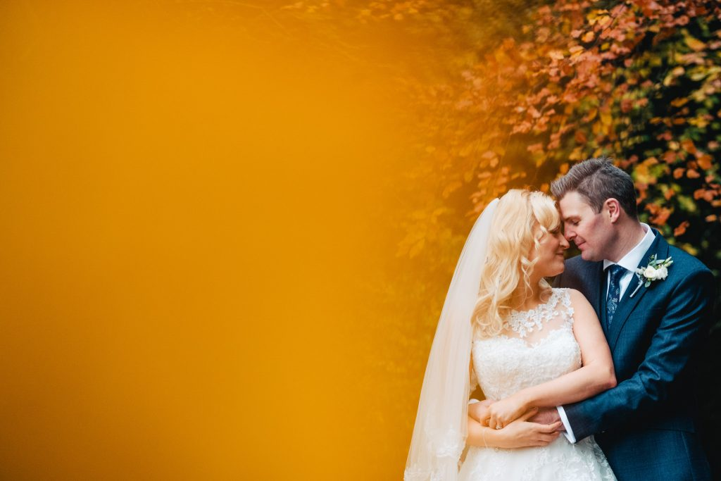 Goldsborough Hall Wedding Portrait with Paul and Tim Photography