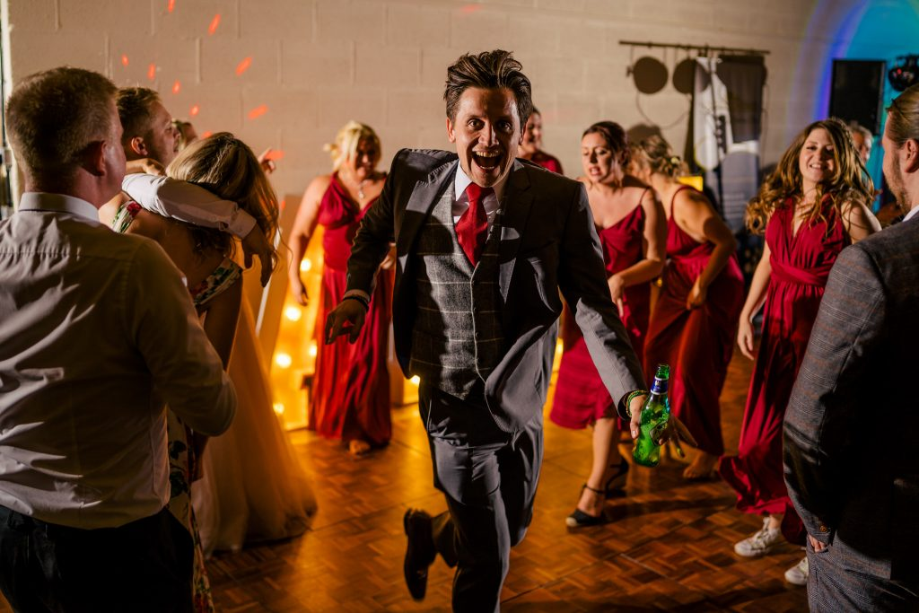 Barmbyfield wedding dancefloor with Paul and Tim Photography
