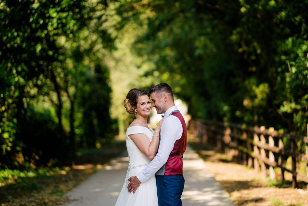 summer wedding portrait with Paul and Tim Photography