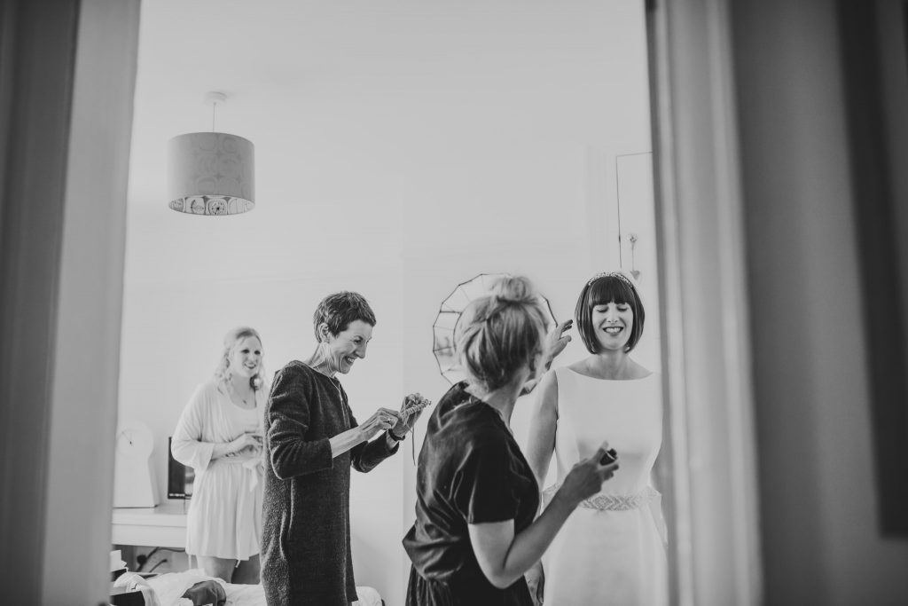 Bridal prep in York