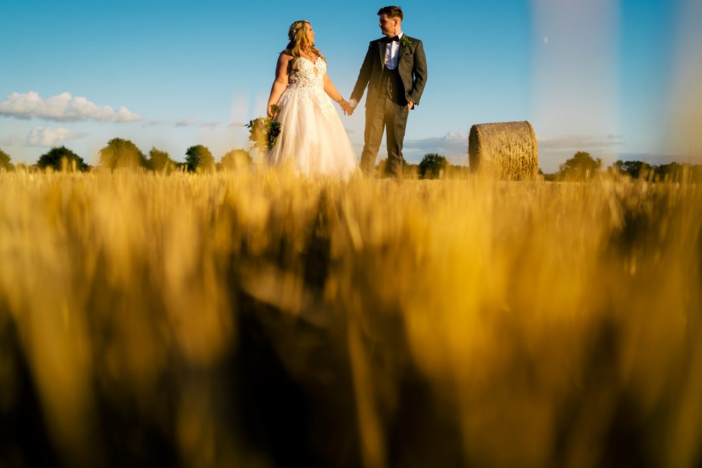 Barmbyfield wedding portrait with Paul and Tim Photography