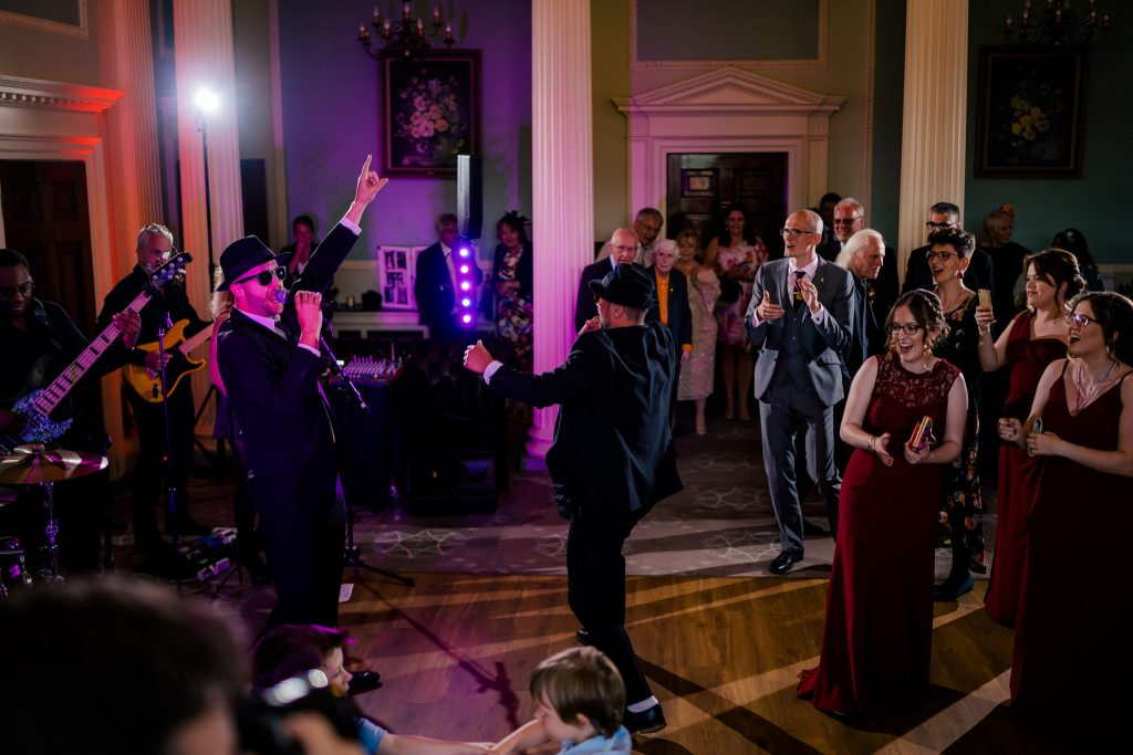 Denton Hall wedding dancefloor