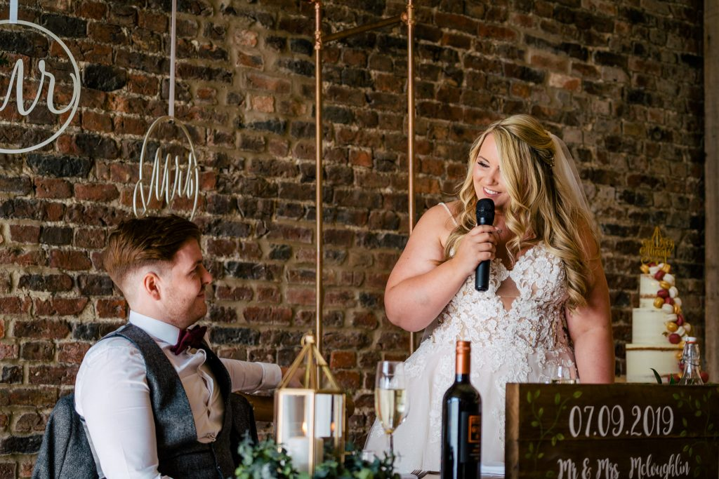 Barmbyfield Moor Wedding speeches