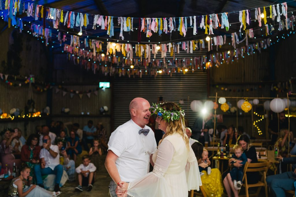 Burts barrow first dance with Paul and Tim Photography