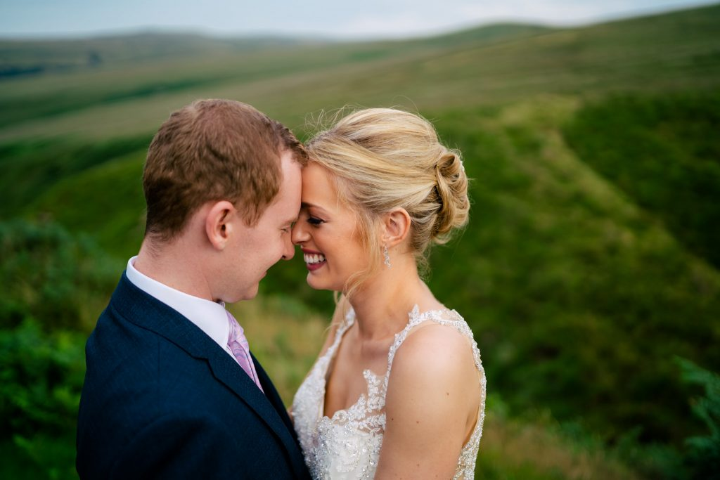 Crow Hill wedding portrait with Paul and Tim Photography