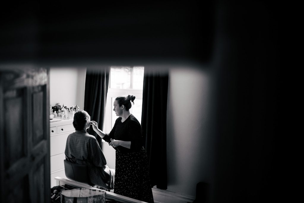 Harrogate Wedding bridal prep with Paul and Tim Photography