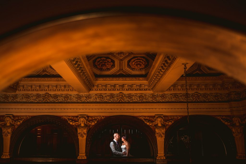 Leeds wedding portrait
