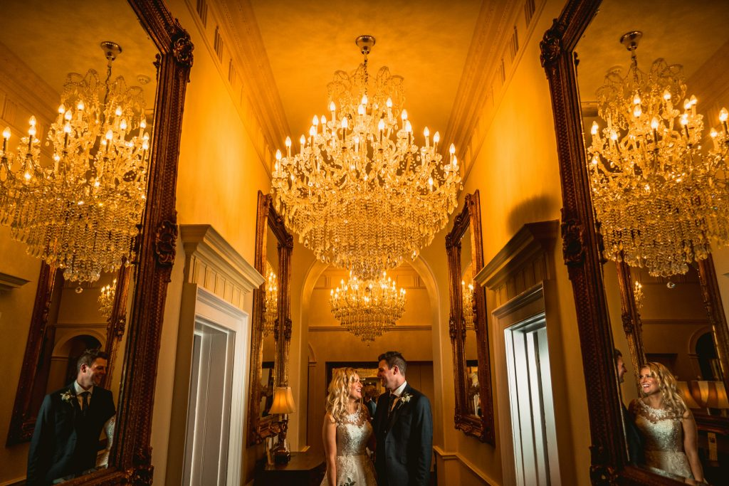 Goldsborough Hall Wedding portrait