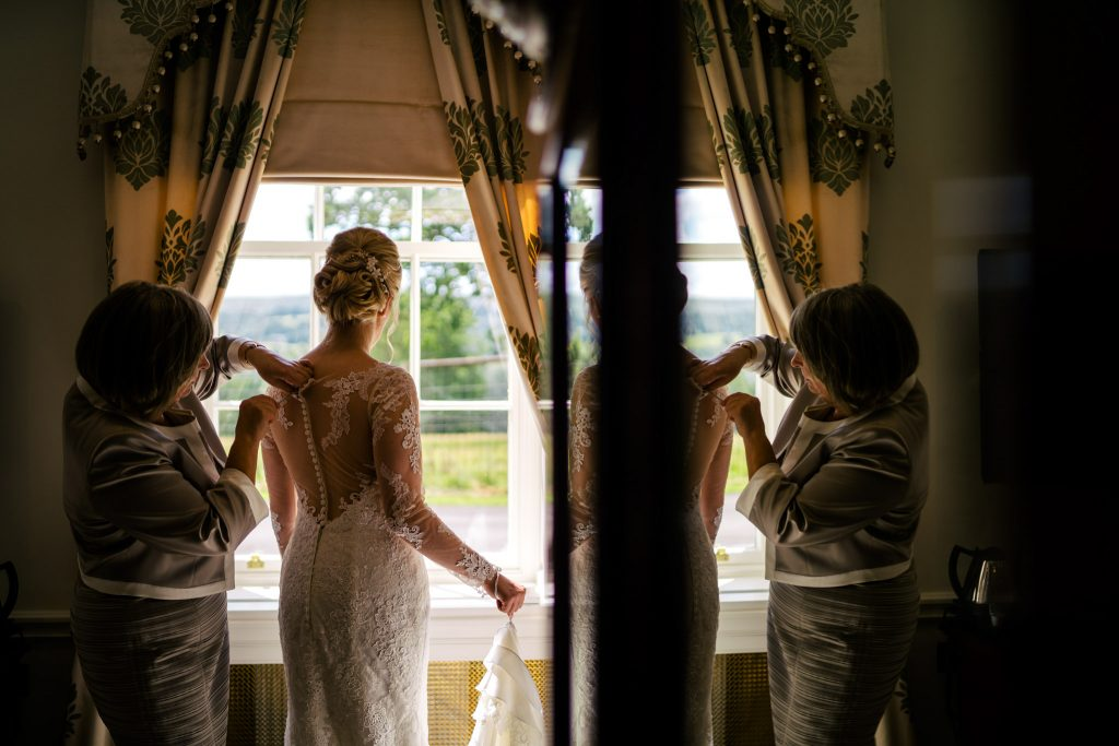 Denton Hall Bridal prep