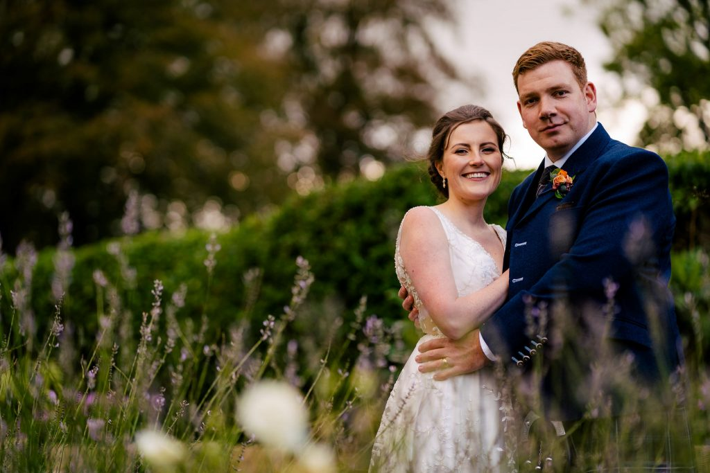Harrogate wedding portrait