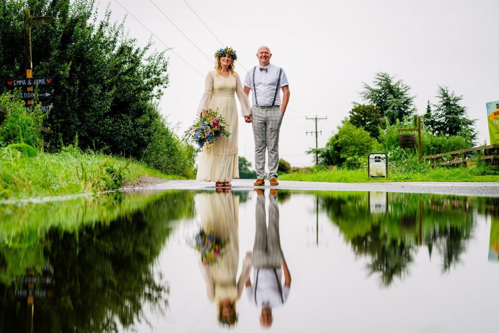 Burts Barrow Wedding portrait