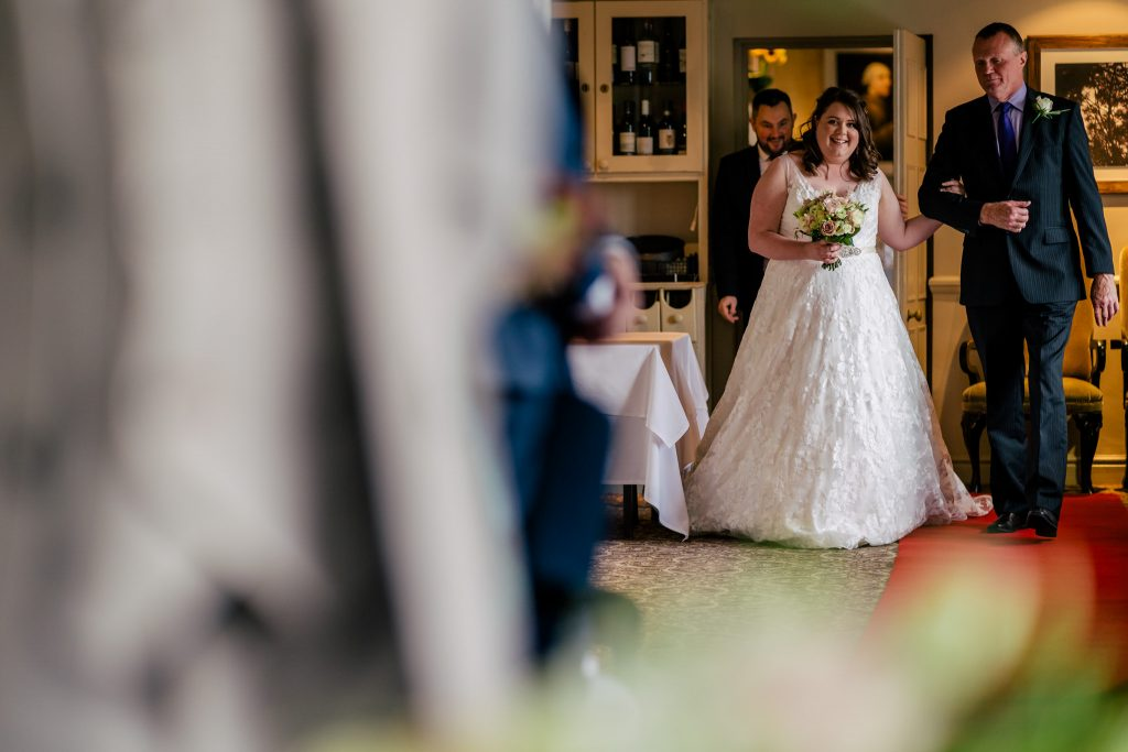 Woodhall hotel and spa bride