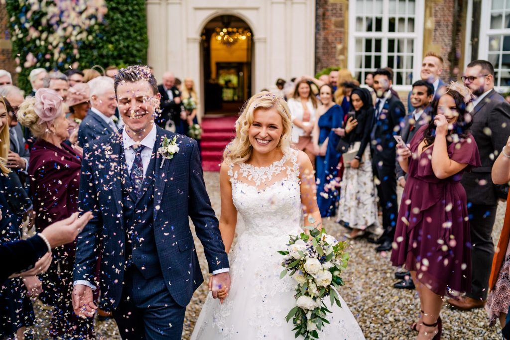 Goldsborough Hall Wedding confetti