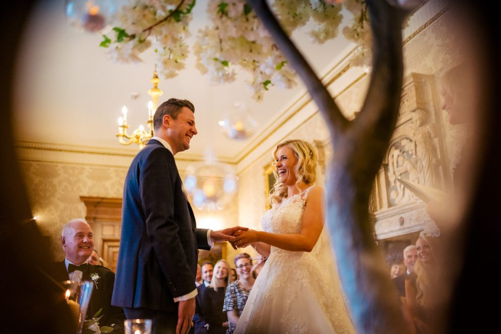 Goldsborough hall wedding ceremony