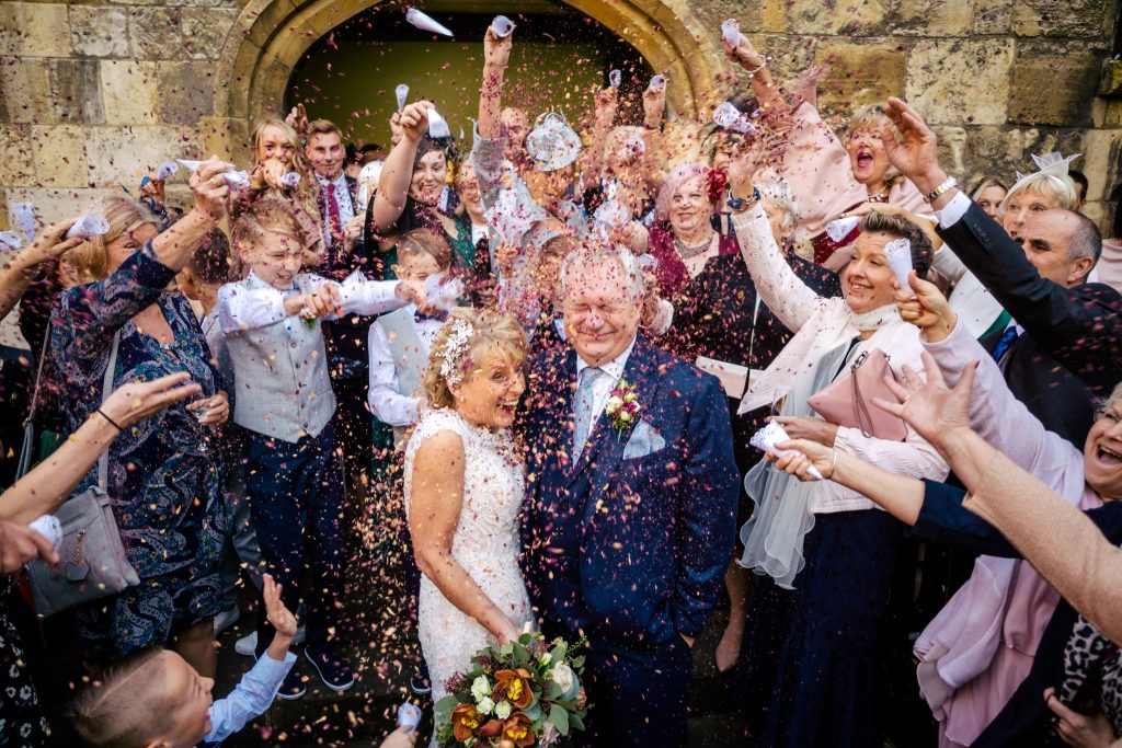 York Hospitium confetti photo