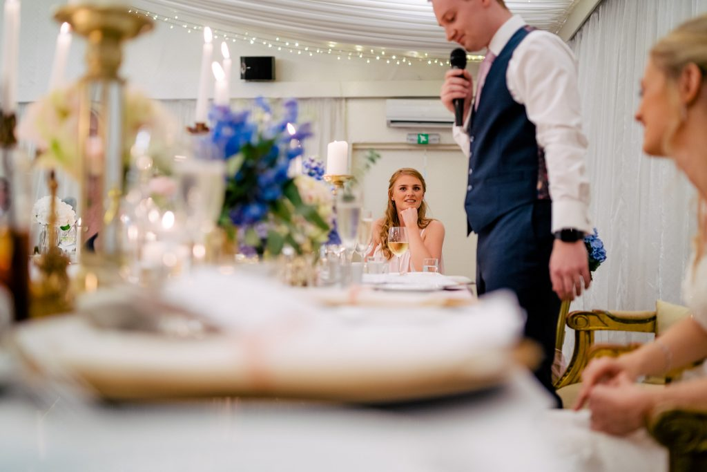 crow hill wedding speeches
