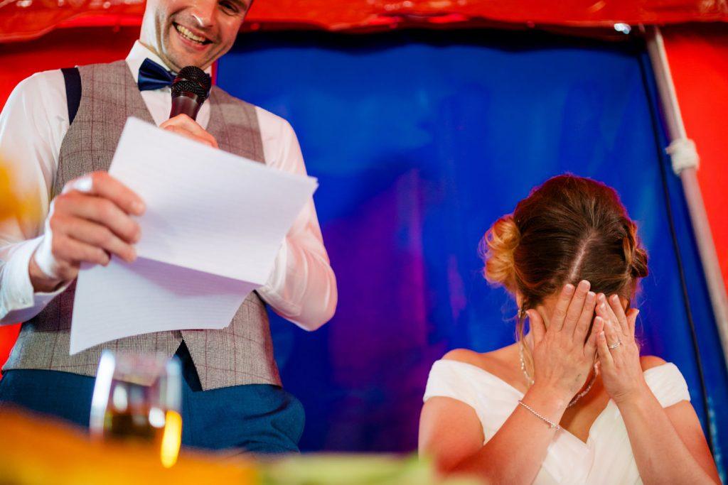 circus tent wedding