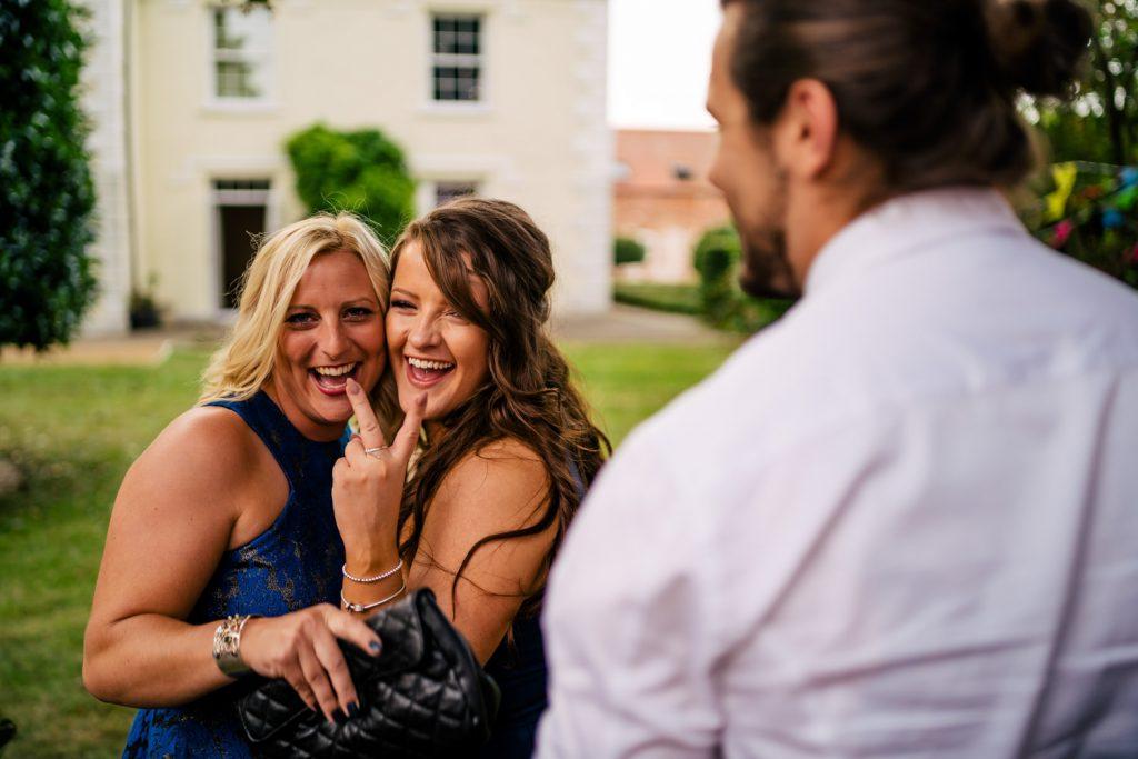 wedding guest fun